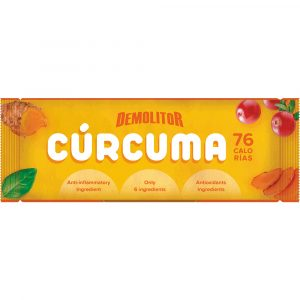 Demolitor Curcuma functional bar protein energy sustainable protein antiinflamatorio antioxidante
