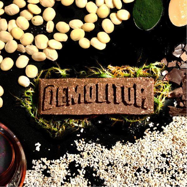 Demolitor-green-vegan-protein proteina sostenible espirulina barra proteica energetica plant based granos andinos